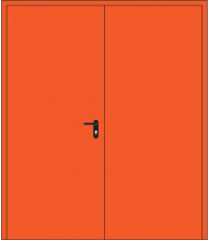 Дверь противопожарная двупольная EIS 60