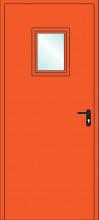 Дверь противопожарная однопольная остекленная EIS60